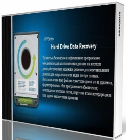 IUWEshare Hard Drive Data Recovery Pro 1.9.9.9 (ML/RUS) Portable