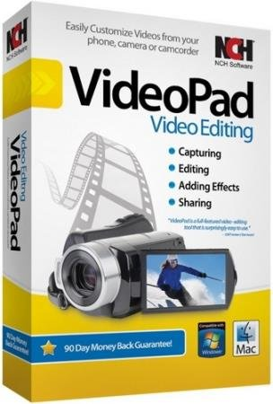 NCH Videopad Professional 6.10 Portable ML/RUS/2018