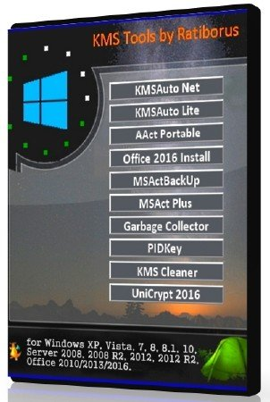 Ratiborus KMS Tools 16.08.2018 Portable