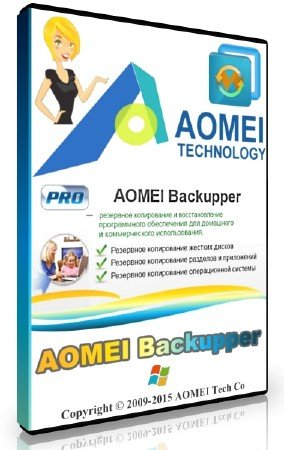 AOMEI Backupper 4.5.6 Professional / Technician / Technician Plus / Server + Rus