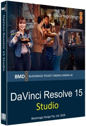 Blackmagic Design DaVinci Resolve Studio 15.2.1.005