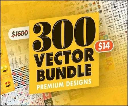 300 Vector Bundle of Premium Designs