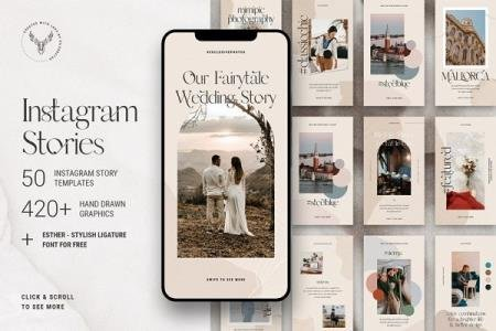 InstaFlow - 50 Instagram Stories Pack