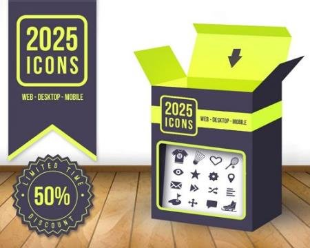 2025 Vector Icons Pack